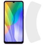 Стекло защитное гибридное Krutoff для Huawei Y6p / Honor 9A / Honor Play 9A