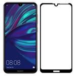 Стекло защитное Full Glue Premium Krutoff для Huawei Y7 2019/Y7 Prime 2019/Y7 PRO 2019/Enjoy 9 черное