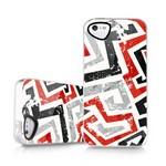 Накладка силиконовая  для iPhone 5/5s (graphic Inkaa) Itskins