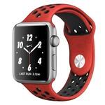 Ремешок Krutoff Silicone Sport для Apple Watch 38/40mm (red/black) 11
