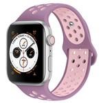 Ремешок Krutoff Silicone Sport для Apple Watch 38/40mm (purple/pink) 24