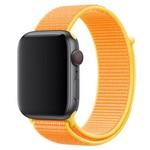 Ремешок Krutoff Nylon для Apple Watch 38/40mm (yellow) 11