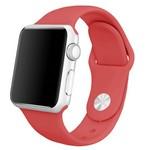 Ремешок Krutoff Silicone для Apple Watch 38/40mm (red) 6