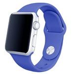 Ремешок Krutoff Silicone для Apple Watch 38/40mm (royal blue) 21