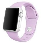 Ремешок Krutoff Silicone для Apple Watch 38/40mm (purple)