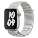 Ремешок Krutoff Nylon для Apple Watch 38/40mm (reflective white) 37