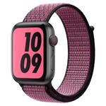 Ремешок Krutoff Nylon для Apple Watch 38/40mm (pink/black) 1