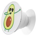 Пластмассовый держатель Krutoff для телефона Попсокет Авокадо (вид 4)