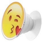Пластмассовый держатель Krutoff для телефона Попсокет Смайлик (вид 2)