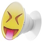 Пластмассовый держатель Krutoff для телефона Попсокет Смайлик (вид 3)