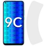 Стекло защитное гибридное Krutoff для Huawei P40 Lite/P40 Lite E/Y7p/Honor 9C