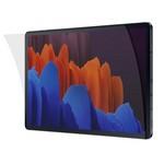 Стекло защитное гибридное Krutoff для Samsung Galaxy Tab S7+/ S7 FE (SM-T970/ T975/ T735)