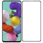 Стекло защитное Full Glue Premium Krutoff для Samsung Galaxy M31S черное