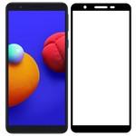 Стекло защитное Full Glue Premium Krutoff для Samsung Galaxy A01 Core/M01 Core черное