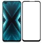 Стекло защитное Full Glue Premium Krutoff для Realme X3 черное