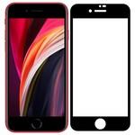 Стекло защитное Full Glue Premium Krutoff для iPhone SE 2020 черное
