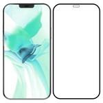 """Стекло защитное Full Glue Premium Krutoff для iPhone 12/12 Pro (6.1"""") черное"""