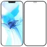 "Стекло защитное Full Glue Premium Krutoff для iPhone 12 Pro Max (6.7"") черное"