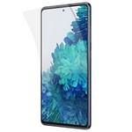 Стекло защитное гибридное Krutoff для Samsung Galaxy S20 FE