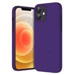 Чехол-накладка Krutoff Silicone Case для iPhone 12 mini (purple) 36