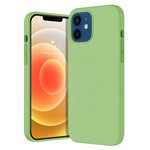 Чехол-накладка Krutoff Silicone Case для iPhone 12/12 Pro (mint) 1