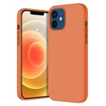 Чехол-накладка Krutoff Silicone Case для iPhone 12/12 Pro (orange) 2