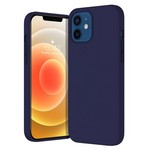 Чехол-накладка Krutoff Silicone Case для iPhone 12/12 Pro (midnight blue) 8