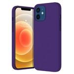 Чехол-накладка Krutoff Silicone Case для iPhone 12/12 Pro (purple) 36