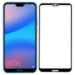 Стекло защитное Full Glue Premium Krutoff для Huawei P20 Lite/Nova 3e черное