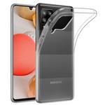 Чехол-накладка Krutoff Clear Case для Samsung Galaxy A42 5G