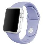 Ремешок Krutoff Silicone для Apple Watch 38/40mm (lilac) 41