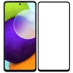 Стекло защитное Full Glue Premium Krutoff для Samsung Galaxy A52 черное