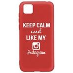 Чехол-накладка Krutoff Silicone Case Instagram для Honor 9S/Huawei Y5p красный