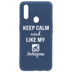 Чехол-накладка Krutoff Silicone Case Instagram для OPPO A31 синий