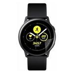 Стекло защитное гибридное Krutoff для Samsung Galaxy Watch Active