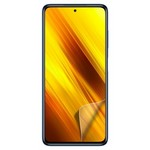 Стекло защитное гибридное Krutoff для Xiaomi Poco X3/X3 Pro