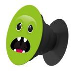 Пластмассовый держатель Krutoff для телефона Попсокет Зеленый Монстр