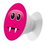 Пластмассовый держатель Krutoff для телефона Попсокет Розовый Монстр