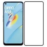 Стекло защитное Full Glue Premium Krutoff для OPPO A54/A54 5G черное