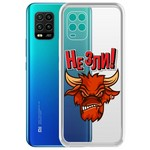 "Чехол-накладка Krutoff Clear Case ""Не Зли!"" для Xiaomi Mi 10 Lite"