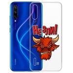 "Чехол-накладка Krutoff Clear Case ""Не Зли!"" для Xiaomi Mi 9 Lite"