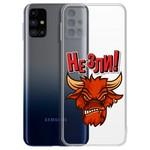"Чехол-накладка Krutoff Clear Case ""Не Зли!"" для Samsung Galaxy M31s (M317)"