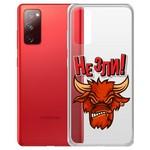 """Чехол-накладка Krutoff Clear Case """"Не Зли!"""" для Samsung Galaxy S20 (G980)"""
