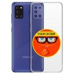 "Чехол-накладка Krutoff Clear Case ""Я Слежу за Тобой"" для Samsung Galaxy A31 (A315)"