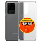 "Чехол-накладка Krutoff Clear Case ""Я Слежу за Тобой"" для Samsung Galaxy S20 Ultra (G988)"