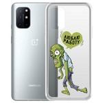 "Чехол-накладка Krutoff Clear Case ""Люблю Работу"" для OnePlus 8T"