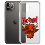 "Чехол-накладка Krutoff Clear Case ""Не Зли!"" для iPhone 11 Pro"