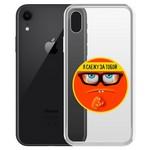 """Чехол-накладка Krutoff Clear Case """"Я Слежу за Тобой"""" для iPhone XR"""
