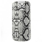 Чехол с язычком на магните размер S (55mm x 105mm) черно-белый | Телефонные чехлы оптом